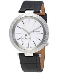 Guy Laroche - White Dial Ladies Leather Watch -01 - Lyst