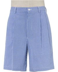 Jos. A. Bank - Stays Cool Cotton Pleated Seersucker Shorts Clearance - Lyst