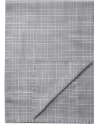 Jos. A. Bank - Glen Plaid Wool Scarf Clearance - Lyst