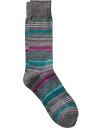Jos. A. Bank | Striped Dress Socks, One-pair | Lyst