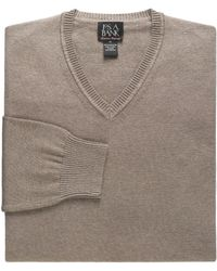 Jos. A. Bank - Signature Collection Pima Cotton V-neck Men's Sweater - Big & Tall - Lyst