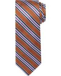 Jos. A. Bank - Signature Gold Textured Stripe Tie Clearance - Lyst