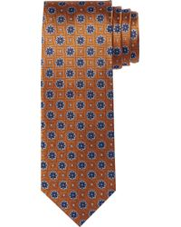 Jos. A. Bank - Traveler Collection Squares & Florals Tie - Lyst