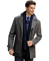 0f0d2460f5c Lyst - Jos. A. Bank Reserve Collection Tailored Fit Cashmere Topcoat ...
