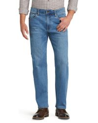 Jos. A. Bank - Reserve Collection Relaxed Fit Jeans Clearance - Lyst