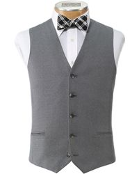 Jos. A. Bank - Joseph Collection Slim Fit Men's Suit Separate Vest - Big & Tall Clearance By - Lyst