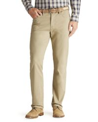 Jos. A. Bank - Joseph Abboud Traditional Fit 5-pocket Sateen Pants Clearance - Lyst