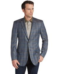 Jos. A. Bank - Signature Collection Tailored Fit Plaid Sportcoat- Big & Tall - Lyst