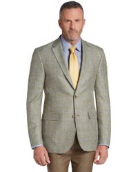 Jos. A. Bank - Reserve Collection Tailored Fit Windowpane Sportcoat Clearance - Lyst