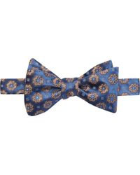 Jos. A. Bank - Executive Collection Floral Geometric Self Tie Bow Tie Clearance - Lyst