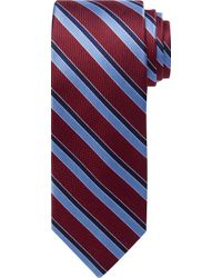 Jos. A. Bank - Traveler Collection Double Stripe Tie - Lyst