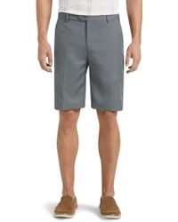 Jos. A. Bank - David Leadbetter Tailored Fit Flat Front Shorts - Big & Tall - Lyst