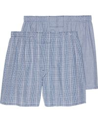 Jos. A. Bank - Plaid Woven Boxers, 2-pack - Lyst