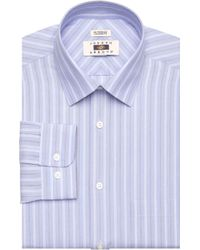 Jos. A. Bank - Joseph Abboud Tailored Fit Spread Collar Multi-stripe Dress Shirt - Lyst