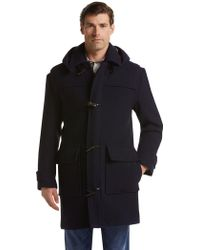 Jos. A. Bank - Traditional Fit Hooded Duffle Coat - Lyst
