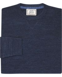Jos. A. Bank - 1905 Collection Cotton Crewneck Sweater Clearance - Lyst
