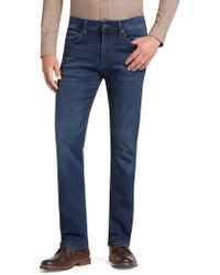 Jos. A. Bank - Reserve Collection Traditional Fit Knit Denim Jeans - Lyst
