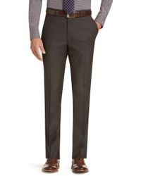 Jos. A. Bank - 1905 Collection Tailored Fit Flat Front Dress Pants Clearance - Lyst