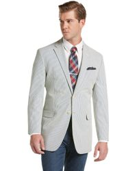 Jos. A. Bank | 1905 Seersucker Striped Tailored Fit Sportcoat Clearance | Lyst
