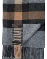 Jos. A. Bank - Stripe & Check Cashmere Scarf Clearance - Lyst