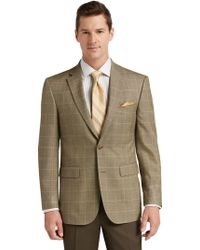 Jos. A. Bank - Traveler Collection Traditional Fit Windowpane Sportcoat - Lyst