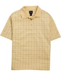 Jos. A. Bank - Classic Collection Traditional Fit Grid Pattern Polo - Lyst