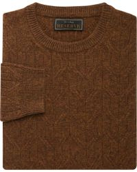 Jos. A. Bank - Eserve Collection Wool Blend Crew Neck Men's Sweater - Lyst
