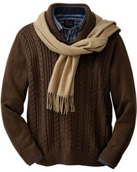 Jos. A. Bank - Executive Collection Cotton Shawl Collar Sweater - Lyst