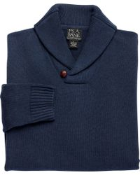Jos. A. Bank | Executive Collection Cotton Shawl Collar Sweater Clearance | Lyst