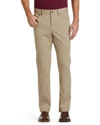 Jos. A. Bank - 1905 Collection Tailored Fit Flat Front Pants - Lyst
