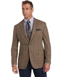 Jos. A. Bank - Joseph Abboud Linen Plaid Tailored Fit Sportcoat Clearance - Lyst