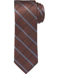 Jos. A. Bank - Reserve Collection Windowpane Plaid Tie - Long - Lyst