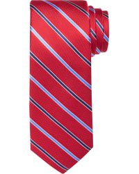 Jos. A. Bank - Traveler Collection Two Tone Thin Stripe Tie - Lyst