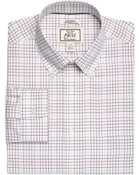 Jos. A. Bank - 1905 Collection Tailored Fit Button-down Collar Tattersall Dress Shirt - Lyst