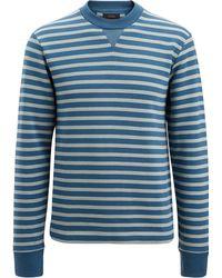 JOSEPH - Stripe Jersey Sweatshirt - Lyst