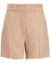 JOSEPH - Hopsack Chine Windsor Shorts - Lyst