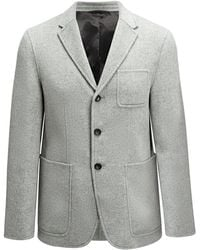 JOSEPH - Double Wool Kerby Jacket - Lyst