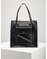 JOSEPH - Leather Portobello Bag - Lyst