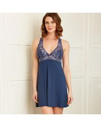 Fleur't - Whispers Of Love Lace Chemise - Lyst