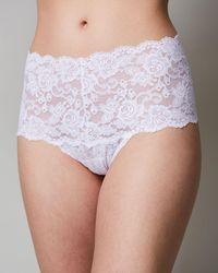 Hanky Panky - Evelyn Lace Retro Thong - Lyst