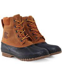 Sorel - Nubuck Leather Cheyanne Boots - Lyst