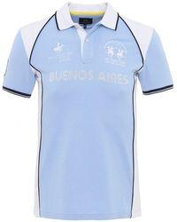La Martina - Pique Isidore Polo Shirt - Lyst