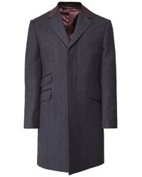Jules B - Gunthorpe Overcoat - Lyst
