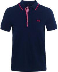 BOSS - Slim Fit Paule 4 Polo Shirt - Lyst