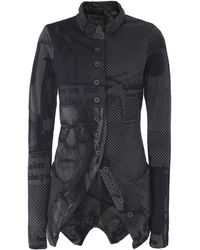 Rundholz - Anthra Print Jersey Jacket - Lyst