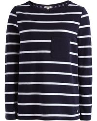 Barbour - Beachley Nautical Top - Lyst