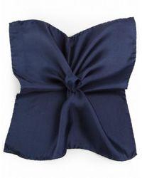 Ascot Accessories - Pocket Silk Handkerchief - Lyst