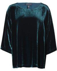 Eileen Fisher - Velvet A-line Top - Lyst