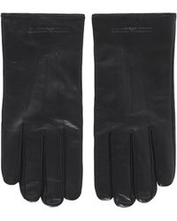 Armani - Nappa Leather Gloves - Lyst