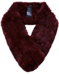 Yves Salomon - Fur Loop Scarf - Lyst